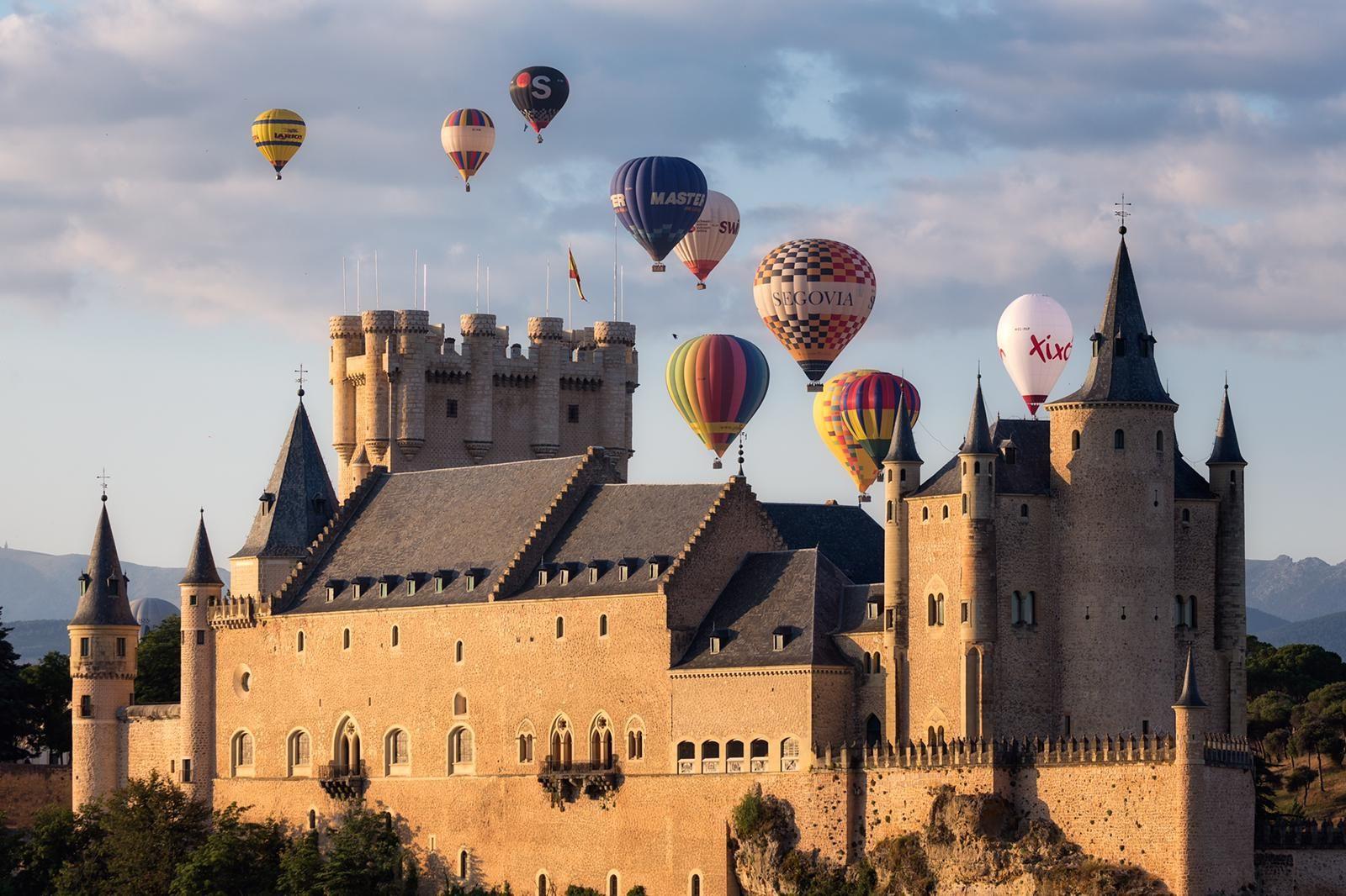 Globos por Segovia