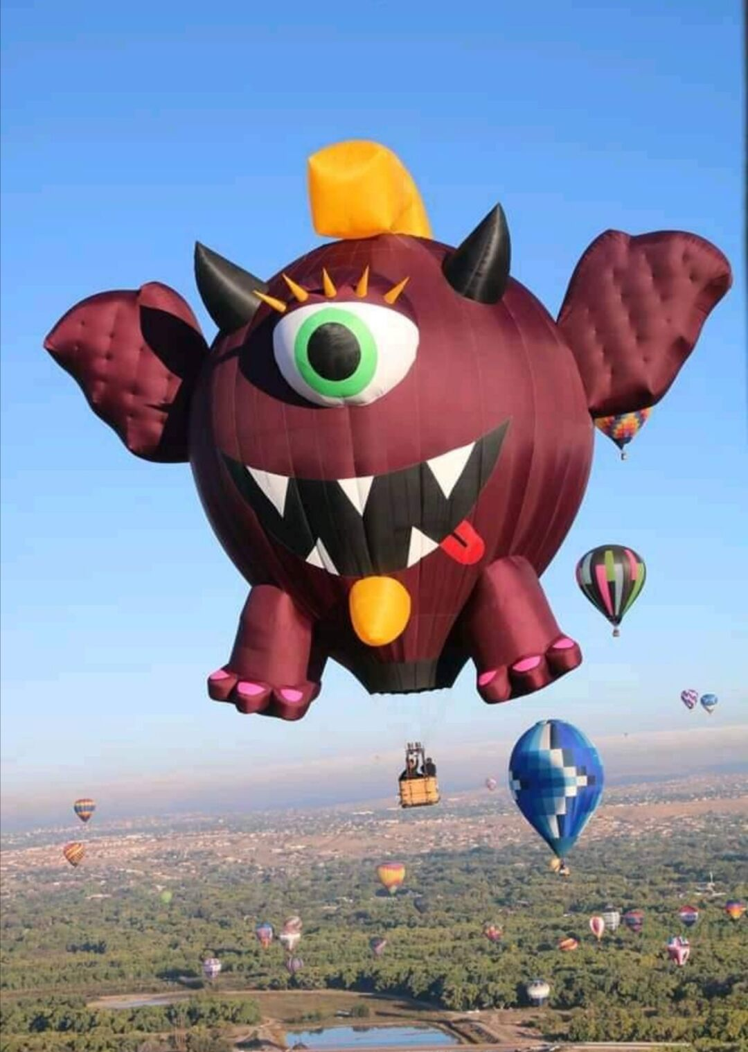 Monstruo volador